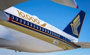 Airbus a livré vendredi son 10.000ème avion.
