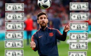T'es dans ta jalousie, il est dans sa richesse Messi.