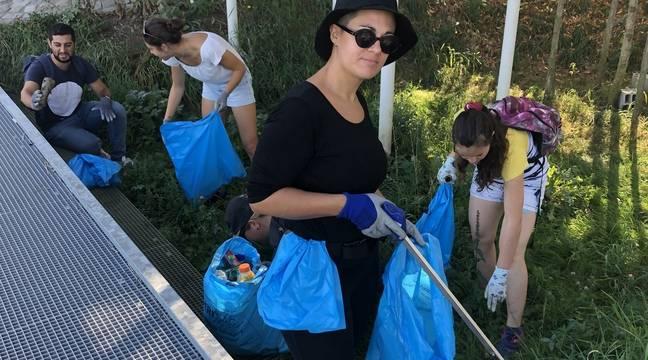 Déchets à Nantes : « C'est hallucinant ! » Cécile et sa bande ont rempli plus de 700 sacs-poubelle en un an