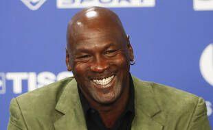 La légende du Basket, Michael Jordan, le 24 janvier 2020.