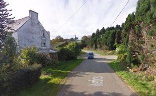 Le lieu-dit Kerbris sur la commune du Saint, dans le Morbihan.