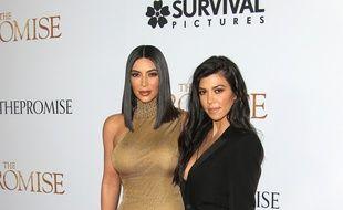 Les stars de la téléréalité, Kim et Kourntey Kardashian