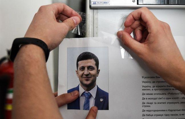 Ukraine: Le comédien Zelensky grand favori du second tour des élections présidentielles