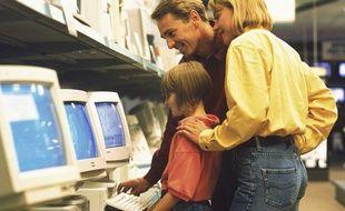 En 1997, acheter un ordinateur en famille, c'était rare