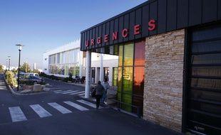 Les urgences du CHU de Nîmes.