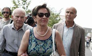 Les parents de Vincent Lambert en 2015.