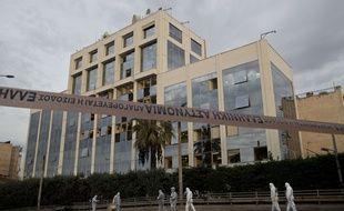 Une bombe a explosé à Athènes à proximité du siège de Skaï, un groupe de médias privés.
