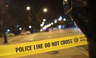 Un bandeau de police aux Etats-Unis (image d'illustration).