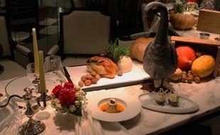 Avec quelques décorations bling, votre repas de fête paraîtra encore plus impressionnant.