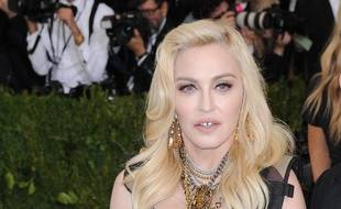 La chanteuse Madonna au Met Gala en 2017