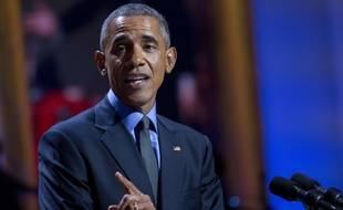 Le Président américain Barack Obama à Washington le 14 octobre 2015.