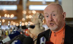 Maître Jean-Marc Florand, l'avocat de la famille d'Alexia Daval, en janvier 2017