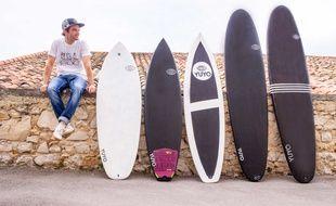 Yuyo fabrique des planches de surf écolos grâce à l'impression 3D