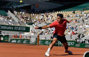 Le Suisse Roger Federer, à Roland-Garros, Paris, le 31mai 2021.