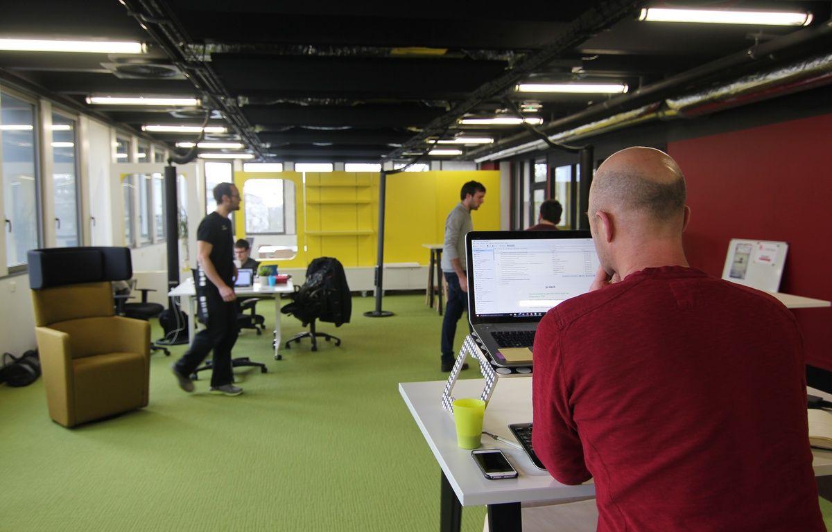 Des coworkers ont déjà investi le siège de la French Tech Rennes Saint-Malo. – C. Allain / APEI / 20 Minutes