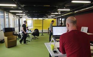 Des coworkers ont déjà investi le siège de la French Tech Rennes Saint-Malo.