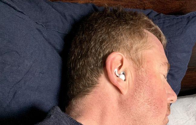 Le port des écouteurs n'est pas gênant.