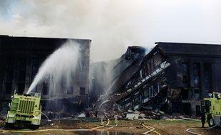 Le FBI a publié des photos inédites de l'attentat du 11 septembre 2001 sur le Pentagone, le 30 mars 2017.