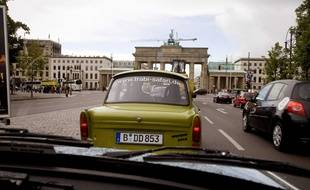 Un «Trabi Safari Tour» à Berlin en 2007.