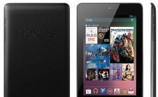 Nexus 7, une tablette 7 pouces de Google et Asus, dévoilée le 27 juin 2012.