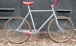 Un exemple de vélo dit Fixie