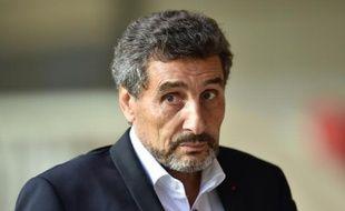 Mohed Altrad, entrepreneur franco-syrien et président du club de rugby de Montpellier, le 13 août 2015 à Montpellier