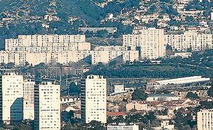 La cité de la Castellane.