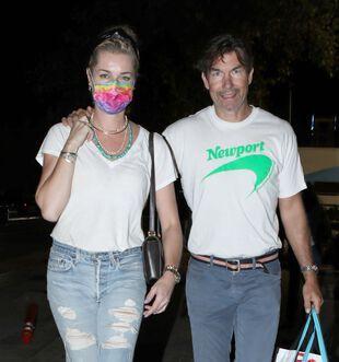 Jerry O'Connell et son épouse Rebecca Romijn, le 4 septembre, à Malibu.