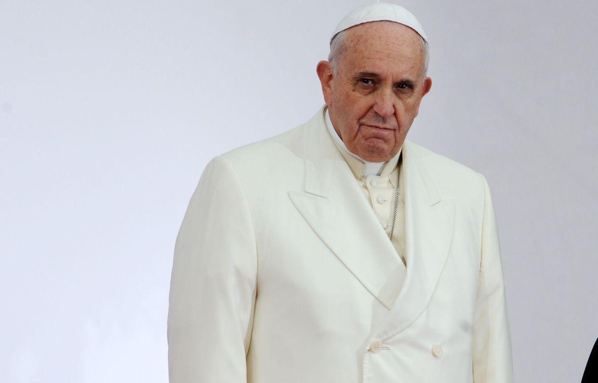 Le pape François accueilli au parlement européen. Illustration. – POL EMILE/SIPA