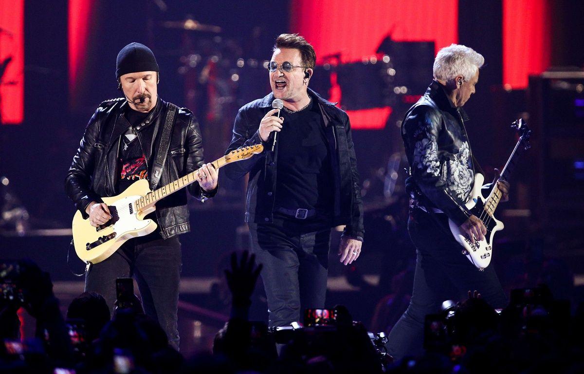Le groupe U2 au stade Pierre-Mauroy, ce n'est pas pour demain. – J.Salangsang/AP/SIPA