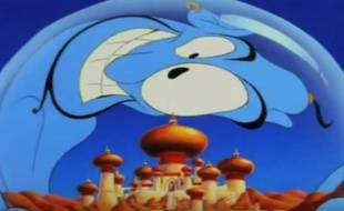 Le film «Aladdin» sorti en 1992.