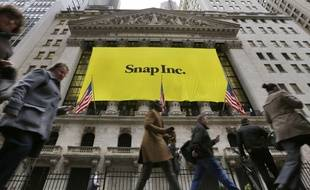 Snap Inc, la maison mère de Snapchat, a fait ses débuts à Wall Street le 2 mars 2017.
