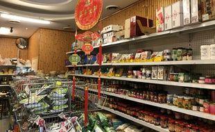 Une épicerie asiatique de Lille