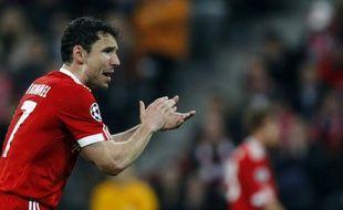 Le capitaine du Bayern Munich, Mark Van Bommel, le 30 mars 2010 à Munich.