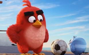 Red, l'oiseau bougon d'Angry Birds.
