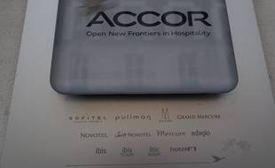Le logo du groupe Accor