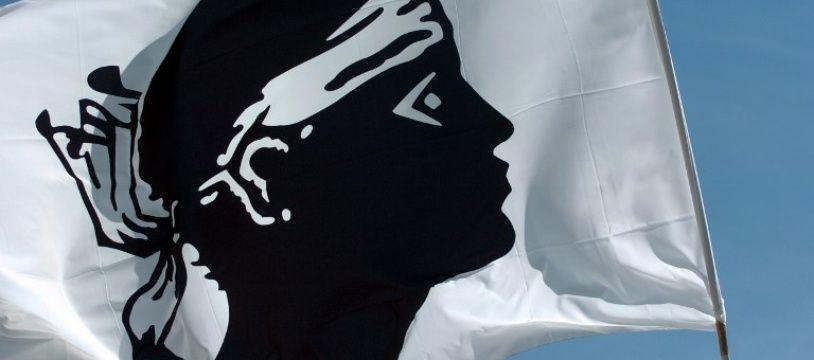 Un drapeau corse flotte sur la ville de Corte (image d'illustration).