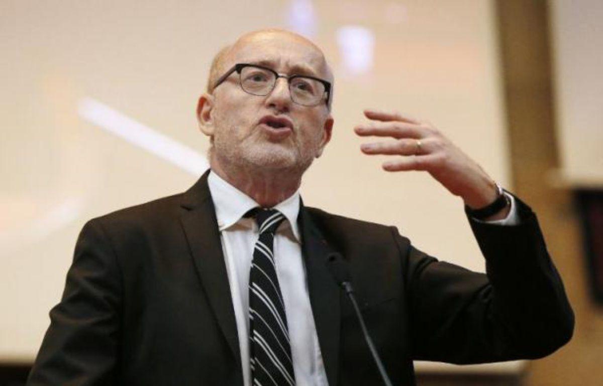 Alain Jakubowicz, le président de la Licra (Ligue internationale contre le racisme et l'antisémitisme), le 24 mars 2013 à Paris – Pierre Verdy AFP