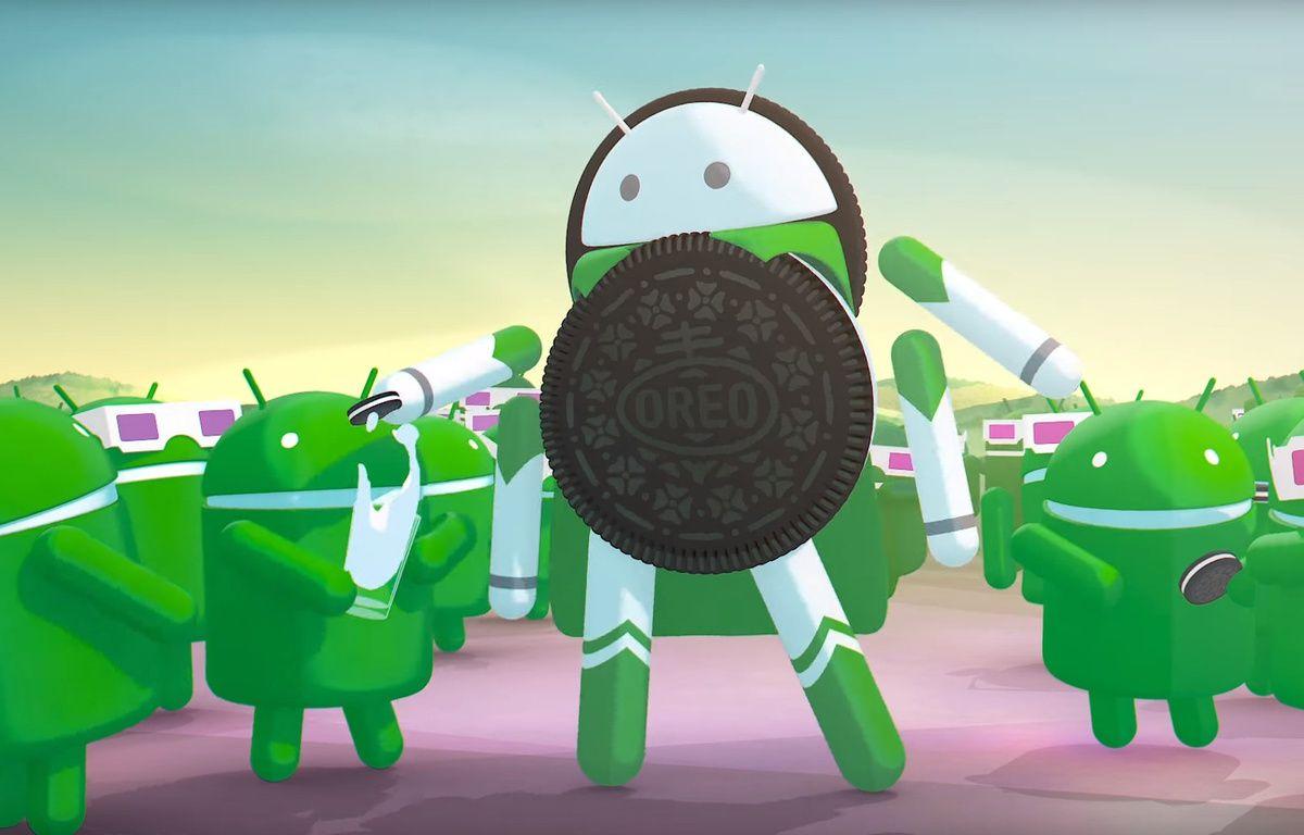 La version 8.0 du système d'exploitation mobile de Google s'appelle donc Android Oreo. – GOOGLE