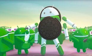 La version 8.0 du système d'exploitation mobile de Google s'appelle donc Android Oreo.