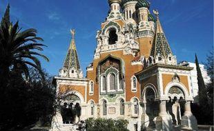 Construite entre?1903 et?1912, l'église russe est classée Monument historique.