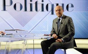 Alain Juppé dimanche 12 juin sur le plateau de Vie Politique sur TF1