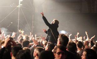 Trans Musicales de Rennes. Le public ici le samedi soir au Parc Expo.