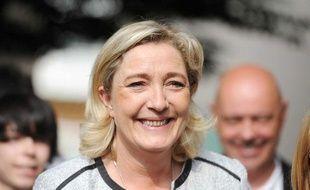 Marine Le Pen à Metz (Moselle), le 22 mai 2012.