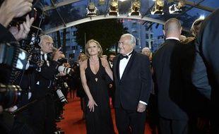 Dominique Strauss-Kahn était sur le tapis rouge à Cannes le samedi 25 mai 2013.