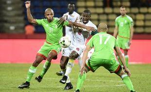 Yacine Brahimi et les Algériens ont concédé le nul face au Sénégal, lundi 23 janvier.