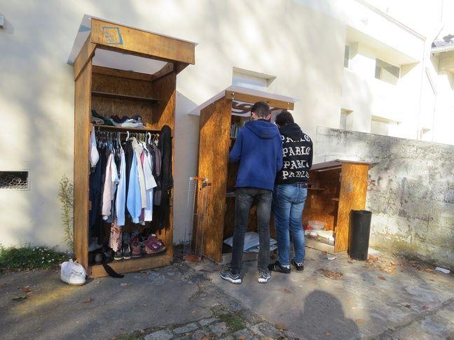 La Boîte à dons du quartier Saint-Felix à Nantes