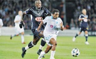 Diawara contre Marseille, septembre 2008.