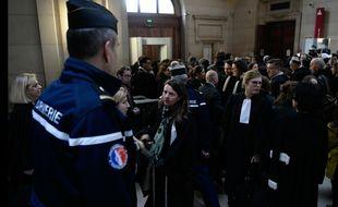 Ouverture du procès de Jawad Bendaoud, de Mohamed Soumah et de Youssef Aïtboulahcen à Paris le 24 janvier 2018.