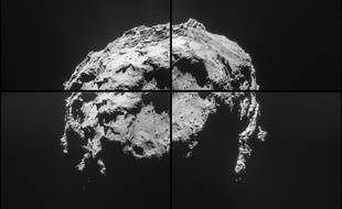 Photo prise par Rosetta de Tchouri